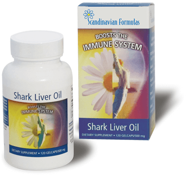 photo of shark liver oil